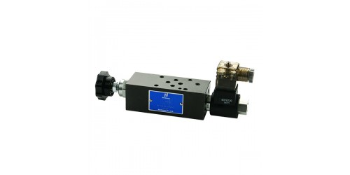 Modular Solenoid Operated Speed Control Valve
