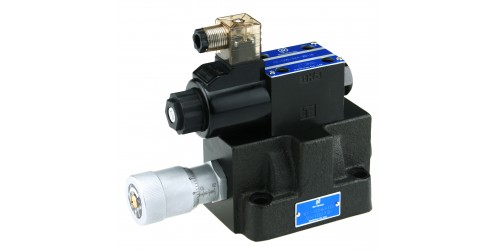 Solenoid Operated Flow Control Valve