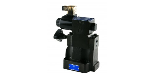 Low Noise Type Solenoid Controlled Pilot Operated Relief Valve