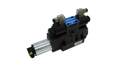 Solenoid Controlled Pilot Operated Directional Safety Valve