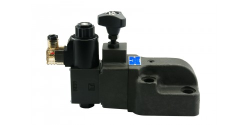 Solenoid Controlled Pilot Operated Relief Valve